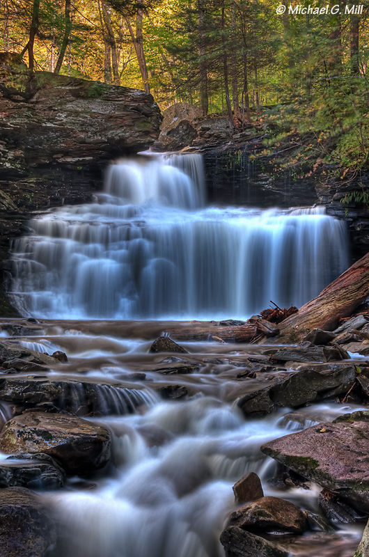 RB Ricketts Falls, Ricketts Glen State Park