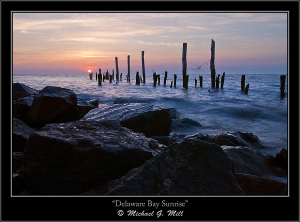 Delaware Bay Sunrise