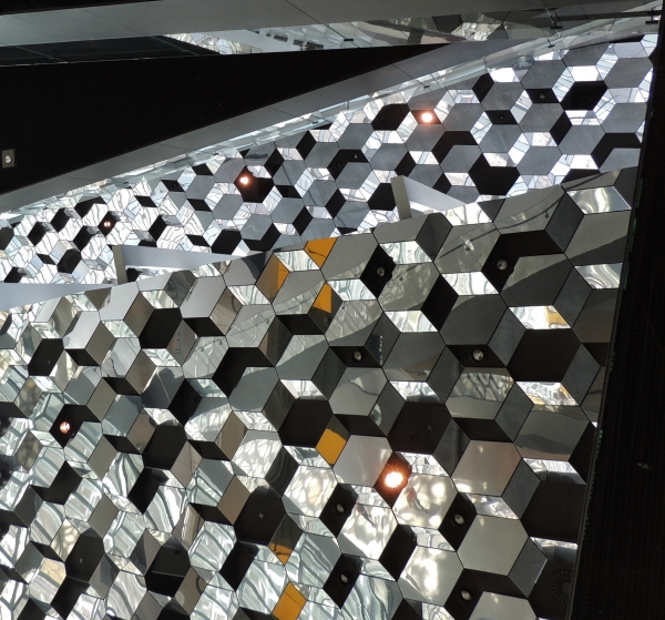 beautiful architecture of the Harpa Building