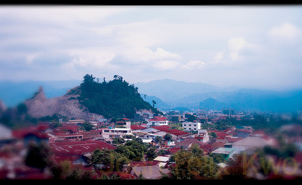 Valley at Lampung City