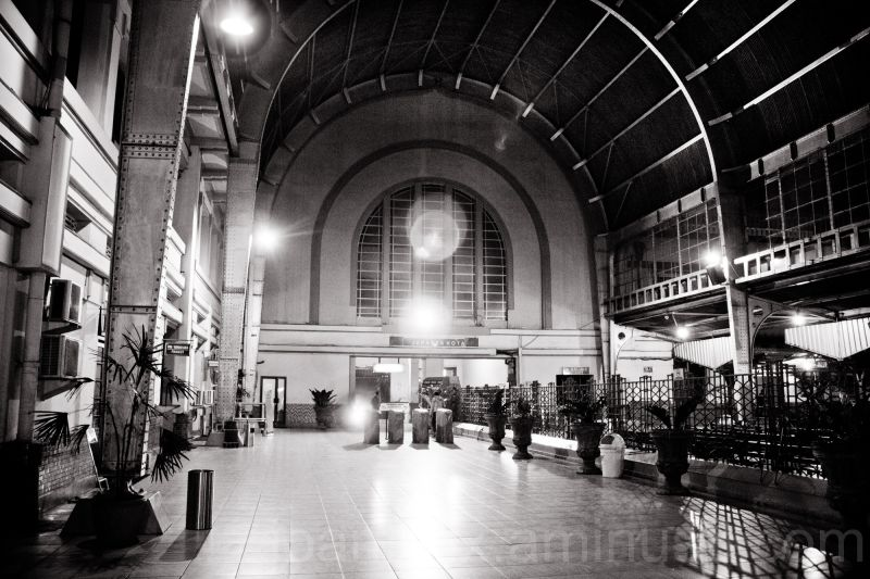 inside Railway station