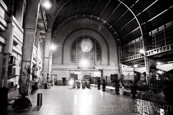 inside Railway station