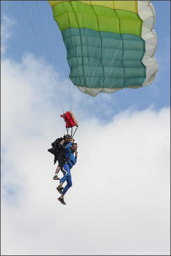 parachute tandem jump skydive palebluephotography