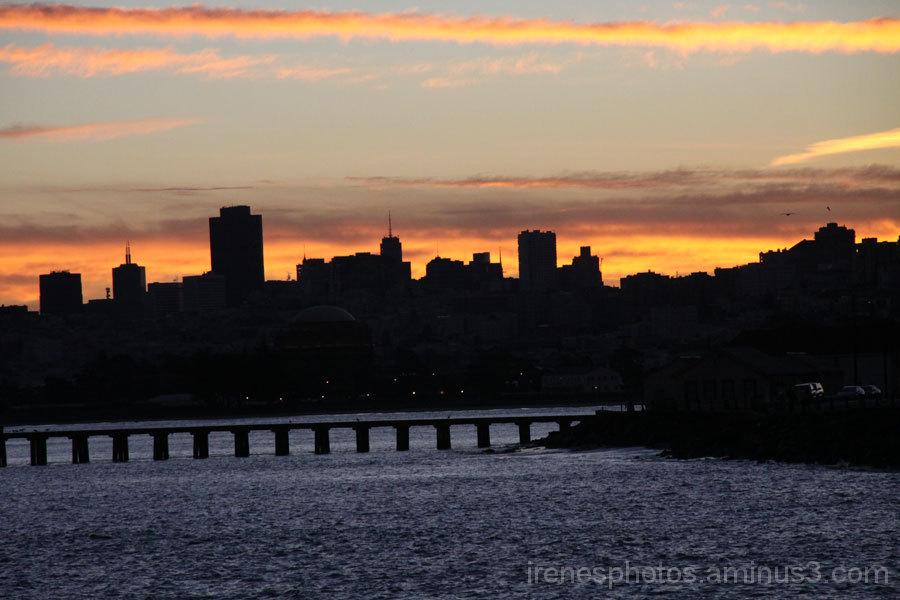 Sunrise on December 31, 2012