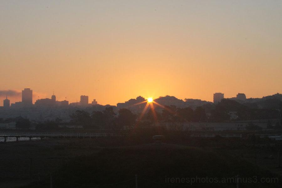 Sunrise on January 31, 2013