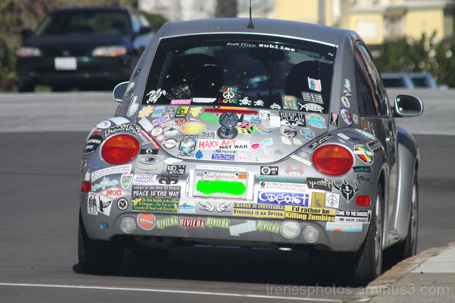 Labeled Car