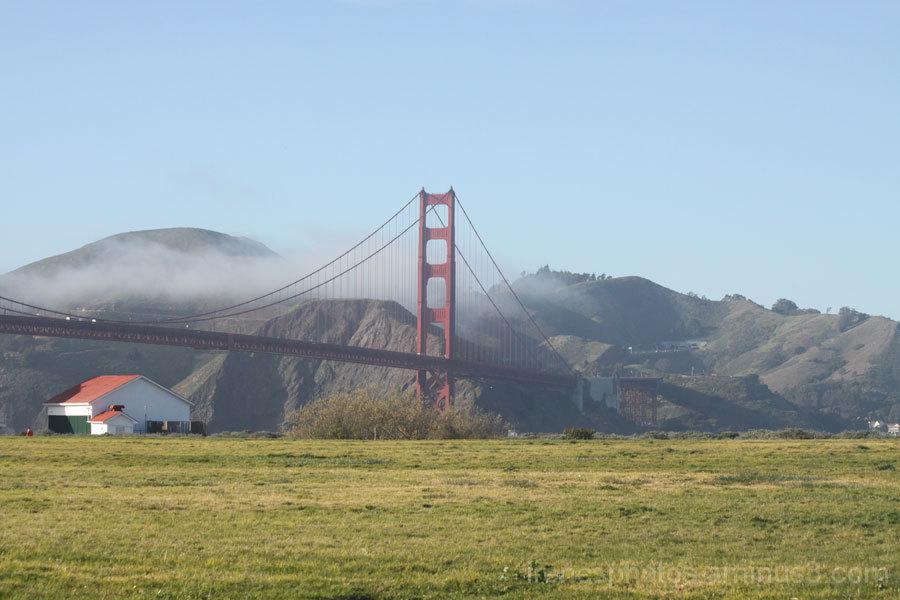 Light Fog on Golden Gate Bridge