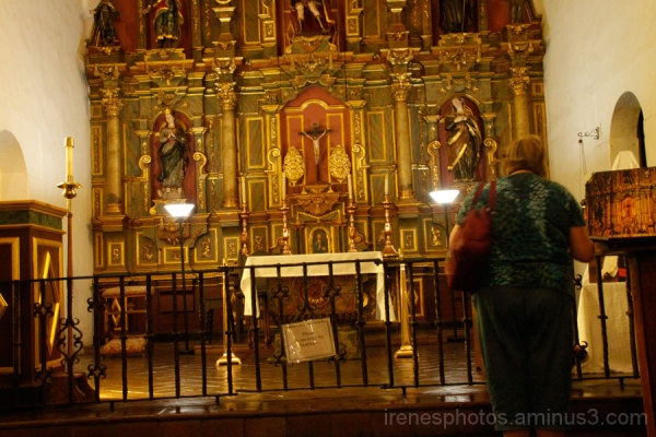 Altar at Mission Dolores