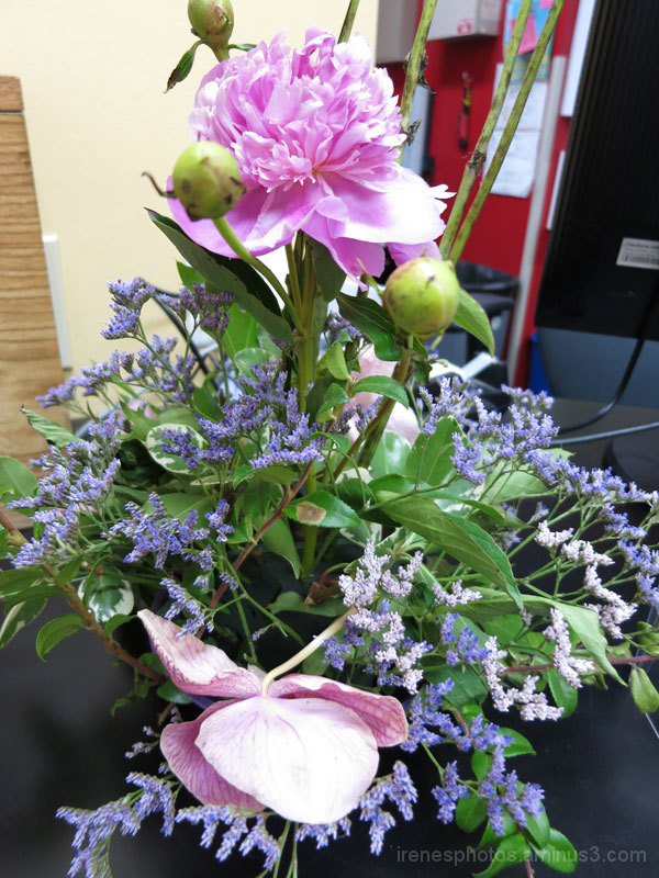 Flower Arrangement at YMCA