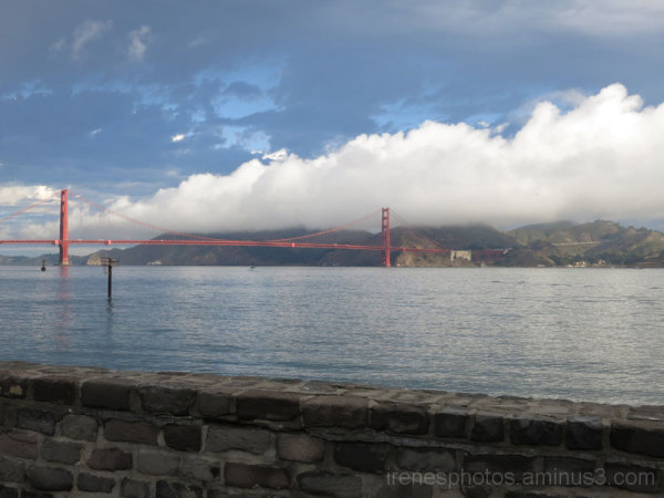 Golden Gate Bridge and Neat Clouds #2