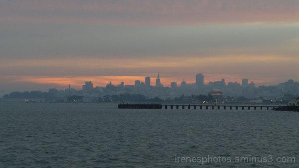 Morning Skyline on January 4, 2015 #2