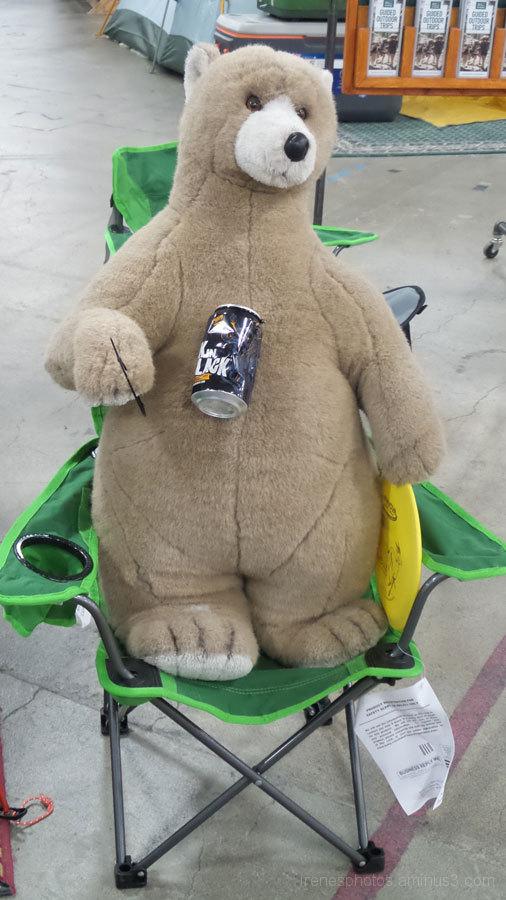 Happy ST: Bear Enjoying Drink
