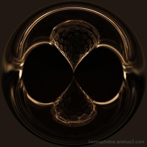 Glass Mask Circle