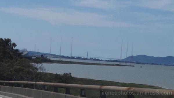 Approaching Oakland Bay Bridge