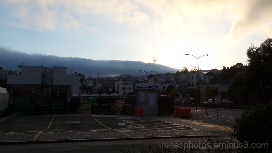 Fog at Horizon