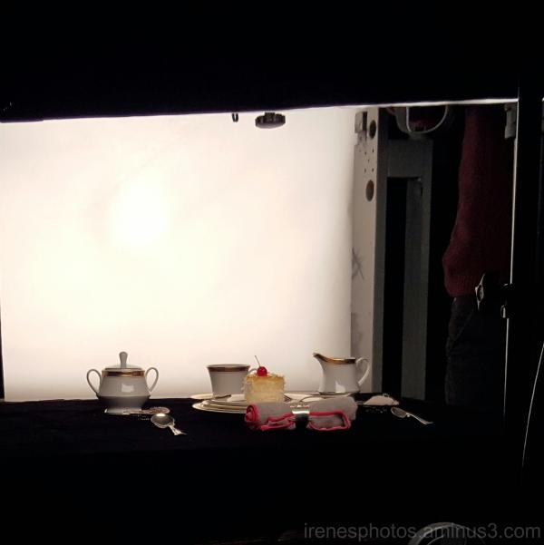 Behind The Scene Food Shot