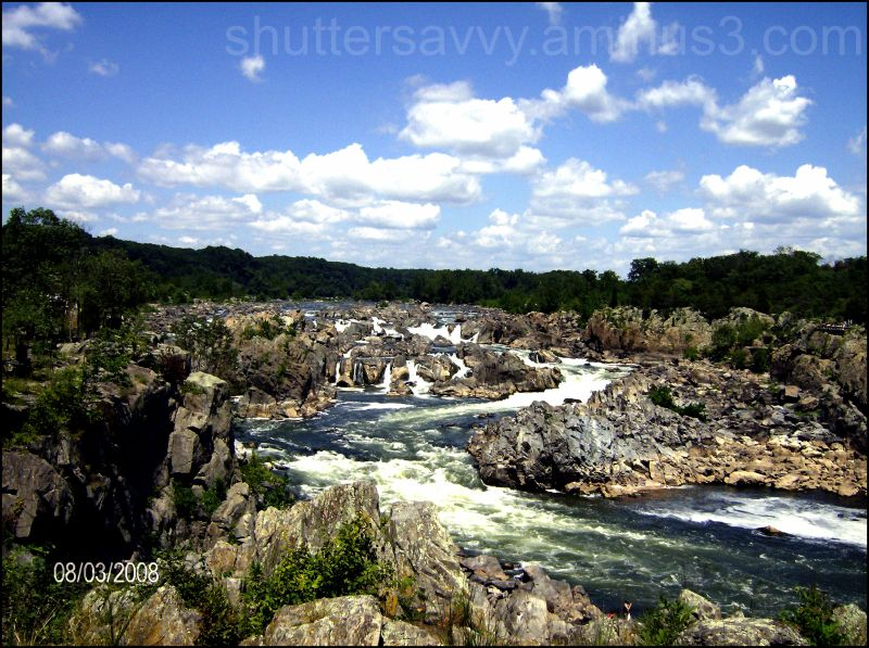 Great Falls in Virginia
