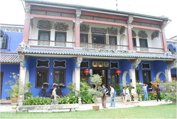 House built on the basis of Feng Shui