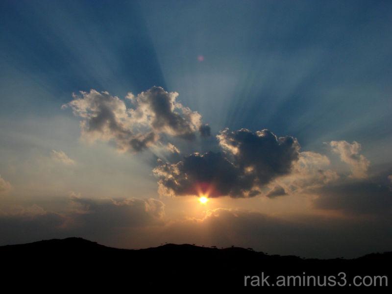 Ras-Al-Khaimah sunset