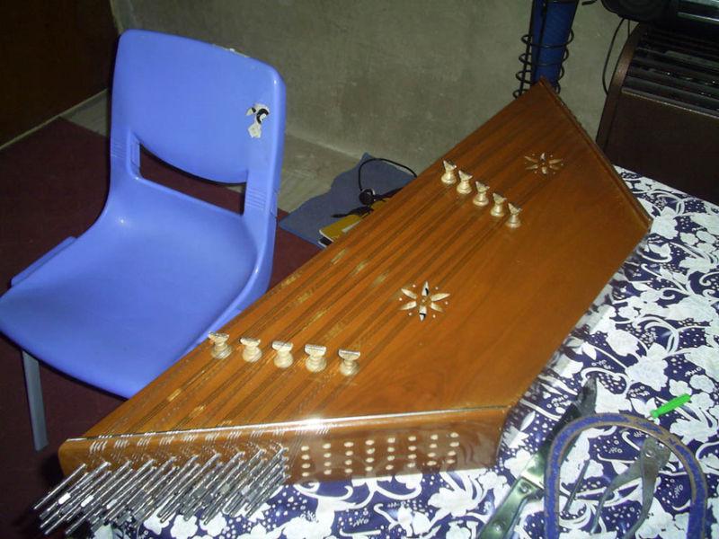 My uncomplete Santour