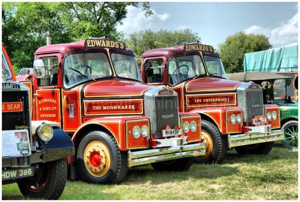 Scammell Fairground Trucks