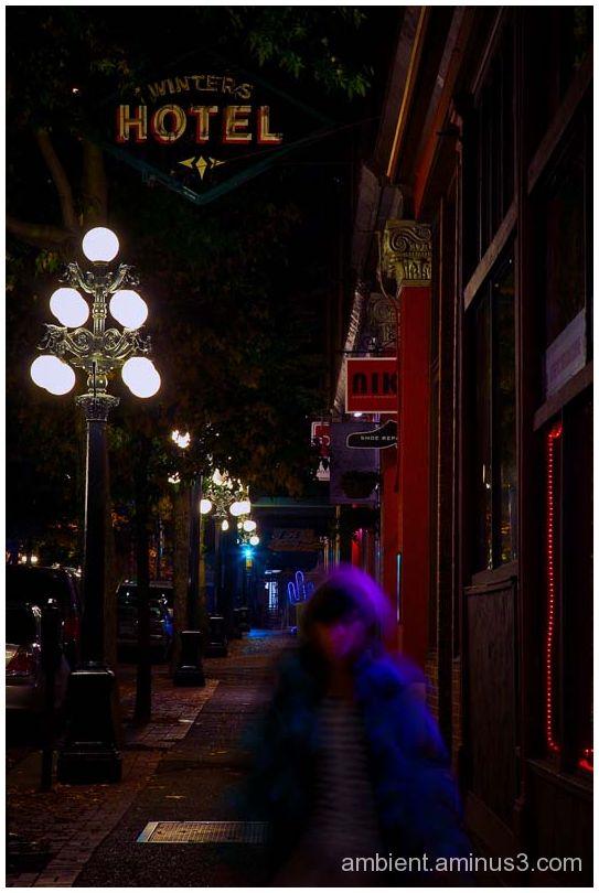 gastown night