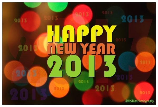 """Happy New Year 2013"""