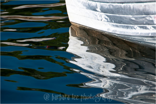 Silver Boat Reflection