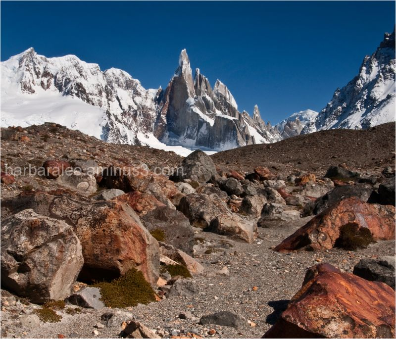 Cerro Torre Above the Moraine