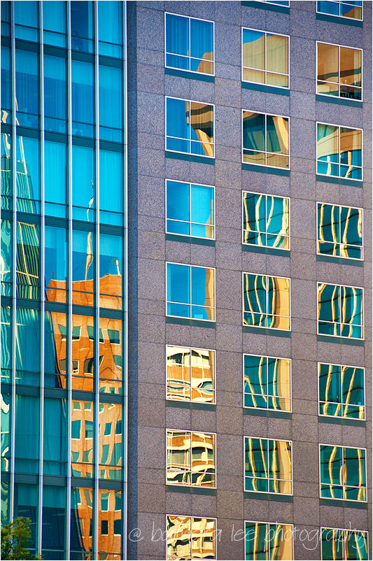 Afternoon Reflected Light on Oakland Building