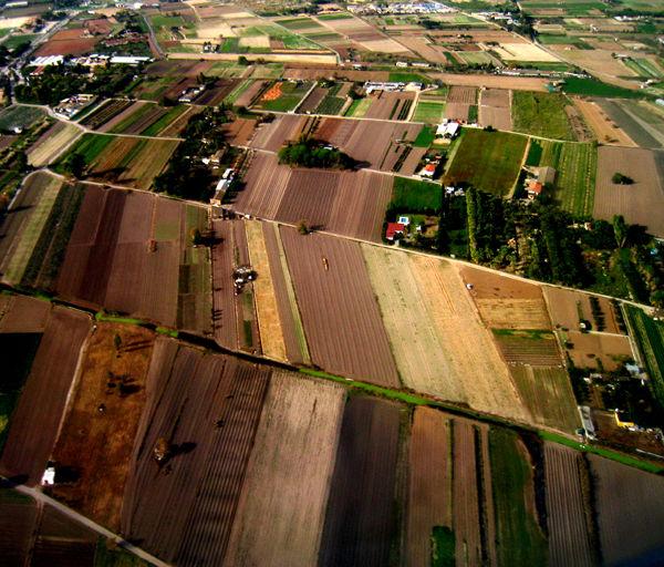 ... terres de conreu... Aproximació!