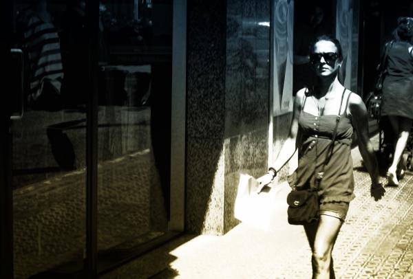 * El carrer a l'estiu