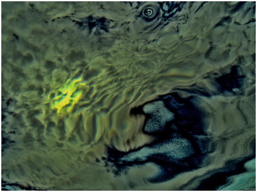 * Visió sota l'aigua del mar