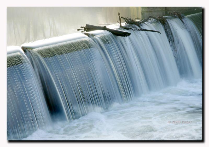 Le Cher en cascade