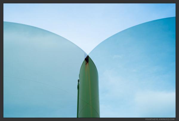 watertank double exposure