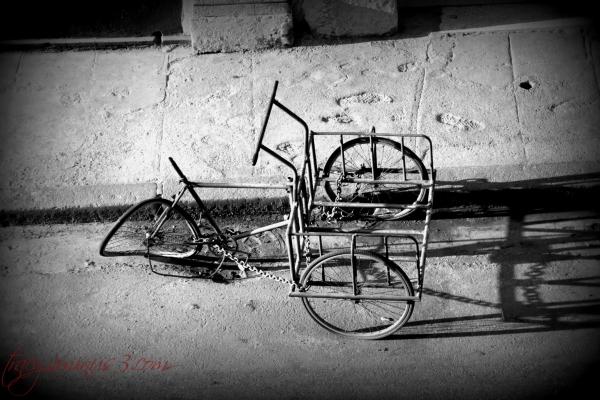 Biking in Cuba