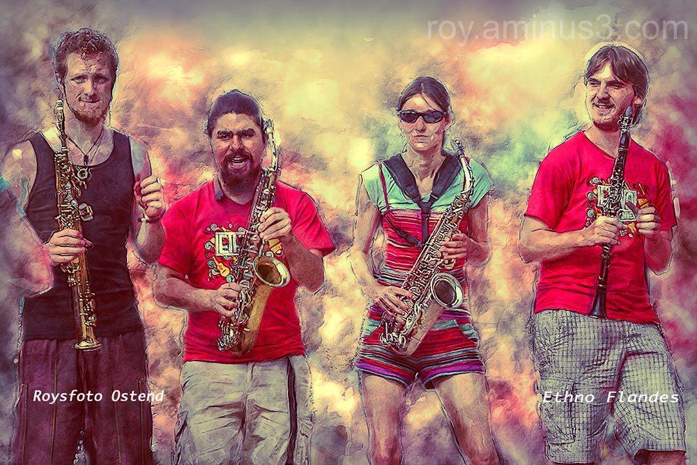 Ethno band Flanders