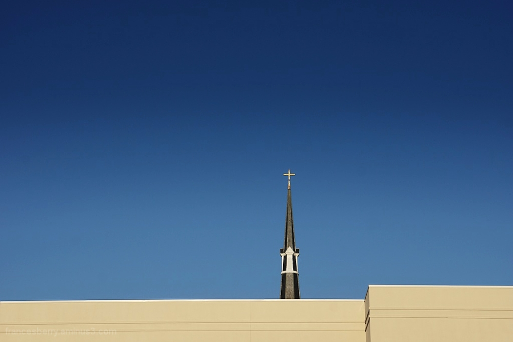 Steeple of the First United Methodist Church