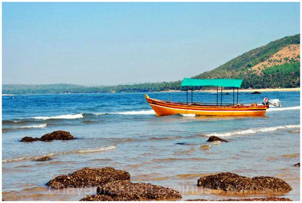 boat seashore
