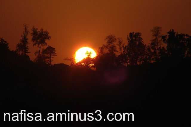 Sunset @ madikeri