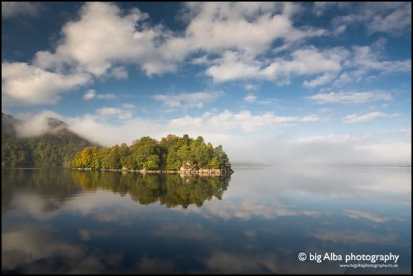 Katrine Reflects, The Trossachs