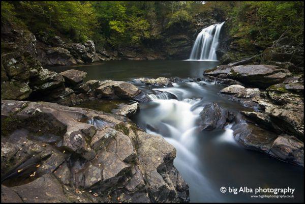 Highland River, Falloch Falls