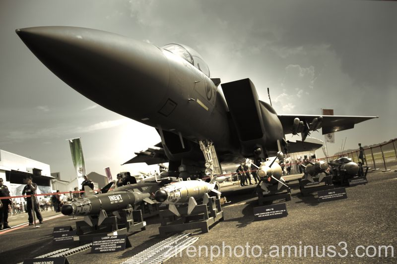 F-15 on display during RSAF Open House '11.