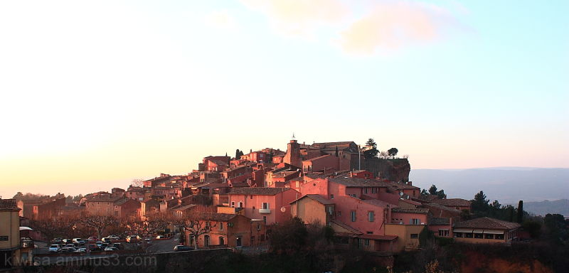 Roussillon village