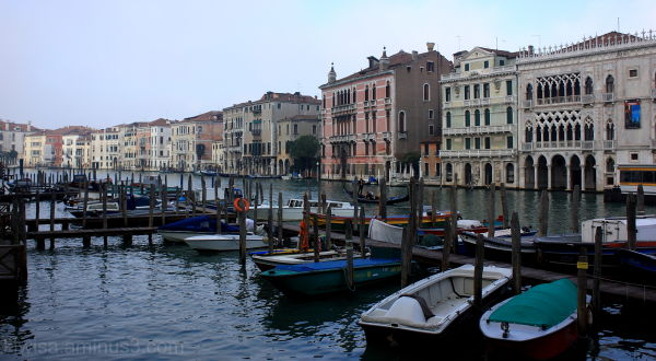 Ca' d'OrO on the Canal Grande