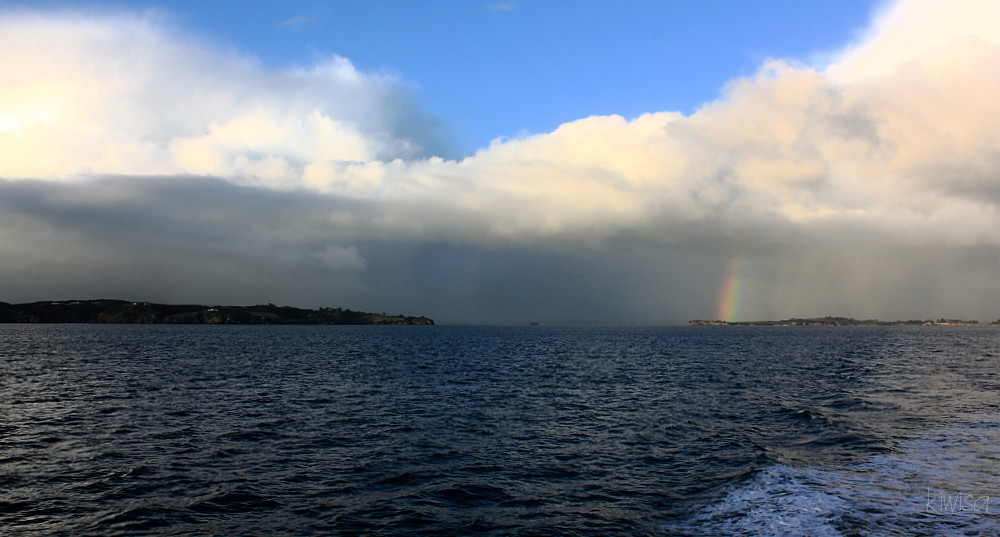 Ferry to Great Barrier Island