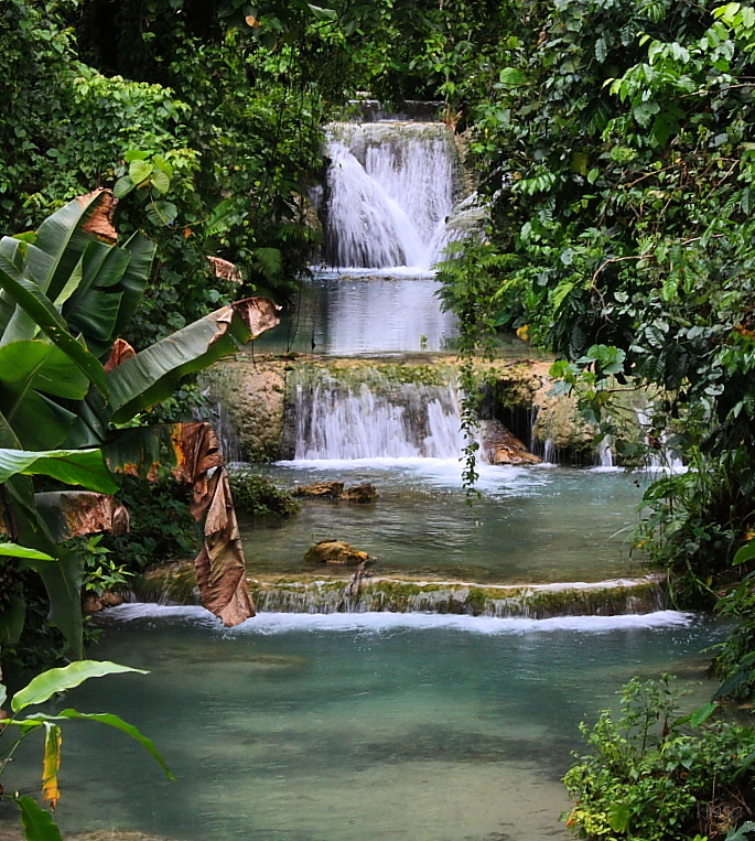 Vanuatu waterfall