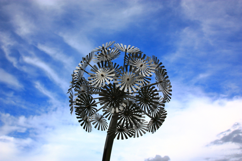 #6 Harbourview Sculpture Trail: Dandelion