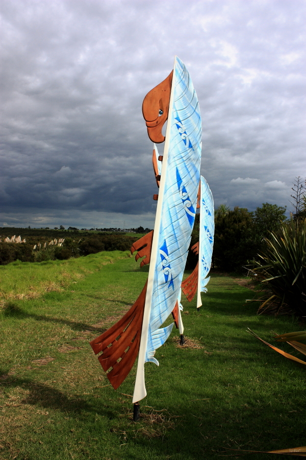 #10 Harbourview Sculpture Trail: Giant Manaia