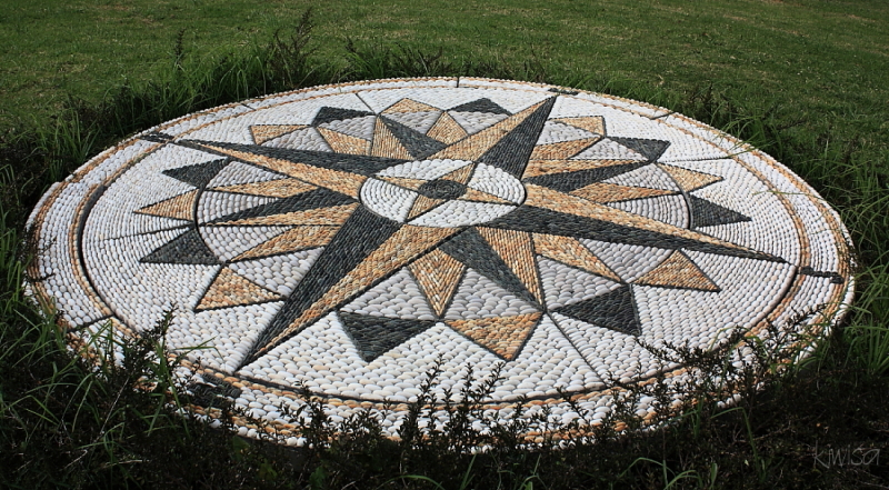 #12 Harbourview Sculpture Trail: Compass Rose